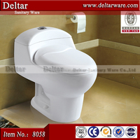 Bolivia hot sale sanitary ware one piece siphonic toilet stock $32, end of year top quality cheapest price, 20 days valid