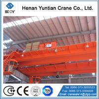 Widely Used QD Double Girder Hanger Bridge Crane /Overhead Crane 75 Ton
