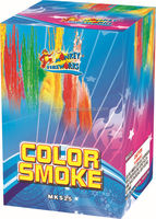 Hot sale professional workmanship cake fireworks igniter color smoke thunder 25 shots