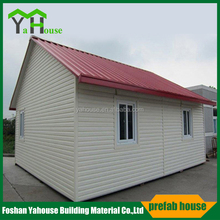 Luxury Widely applicated Mobile Prefab Slop Roof Steel Villa House for sale