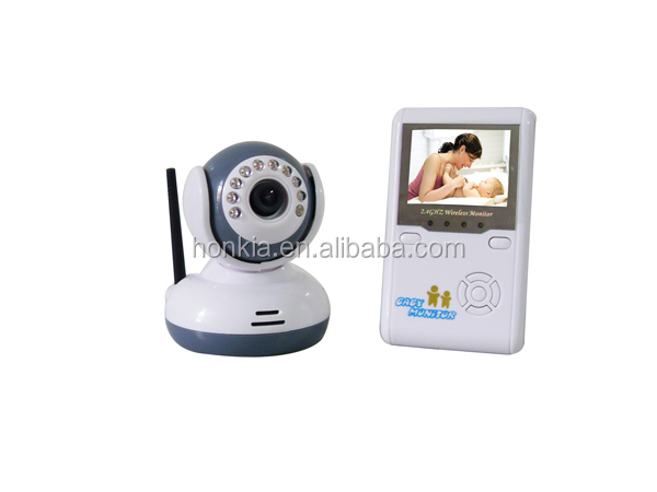 "Wholesale Cheap 2.5"" TFT LCD 2.4G Video Baby Monitor with Wireless digital camera"