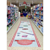 Advertise on your floors with custom floor graphics