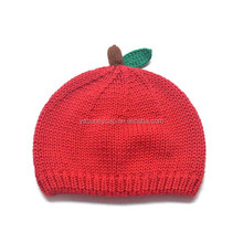 Fashionable design high quality custom knitted beanie