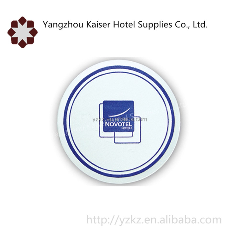 china disposable pulpboard cup coasters hotel amenities supplies