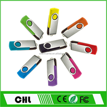 promotional gift private label real capacity 3.0 USB CS01 swivel usb flash drive