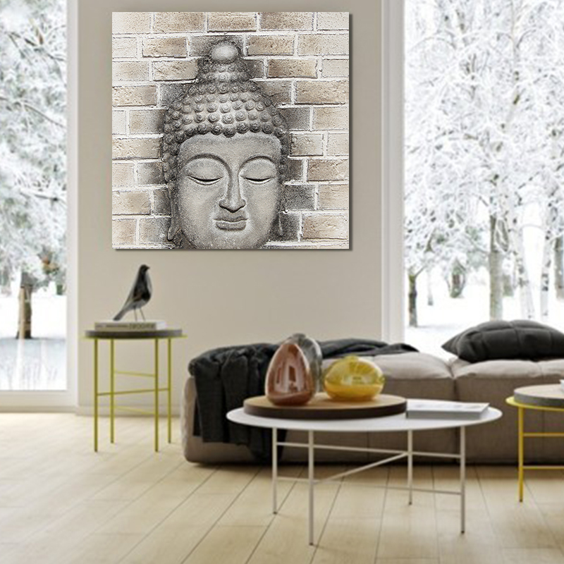 Abstract Modern Buddha oil Painting art picture handmade oil painting wholesale price