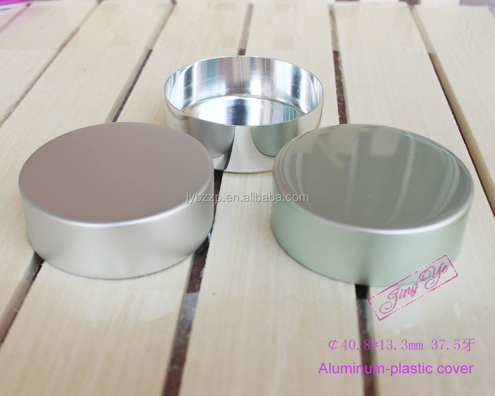 Custom Logo Aluminum Candle Lid Metal Lids For Candle Jars