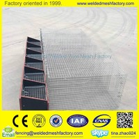 welded wire mesh panel mink cage ,bird cage ,metal animal cages