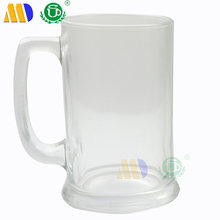 17oz Sublimation glass beer mug