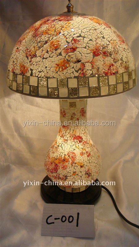 Wholesale Glass Chandelier Turkish Mosaic Lamp Tuning