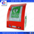 WAP-health aed wall mount cabinet for hospital use with alarm system