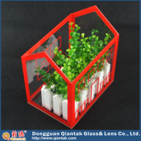 China Style Decorative Plastic Acrylic Storage Box