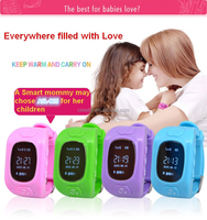 2016 Children Smart watch Kid Phone Wrist Watch GPS Watch with SOS Function