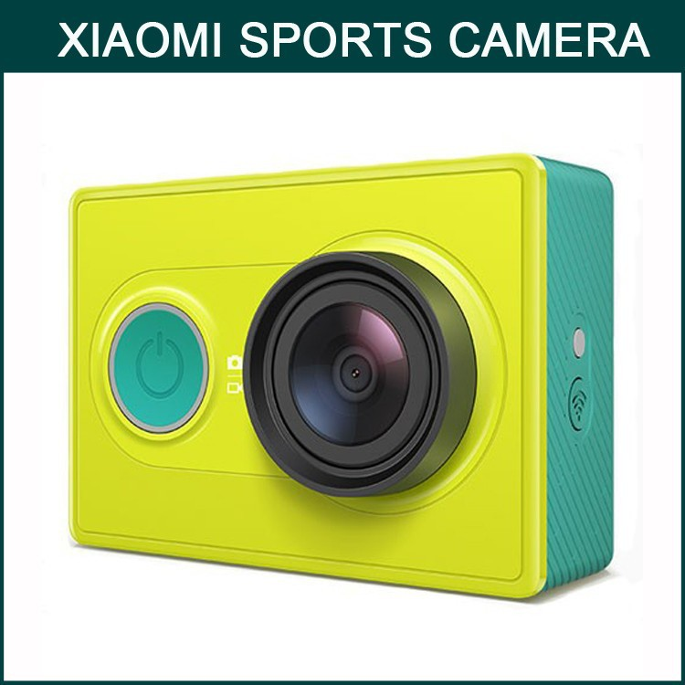 Xiaomi Yi Action CAM 16MP 1080P 60/30FPS FHD Video Recording Remote App control Xiaomi Sports Camera