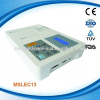 Best quality portable digital ECG machine for sale MSLEC13-L