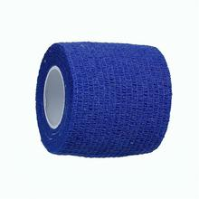 Body Care Sports Wrist Support Deep Blue 50mm Nonwovens Self Adhesive Elastic Medical Bandage Tape For First Aid