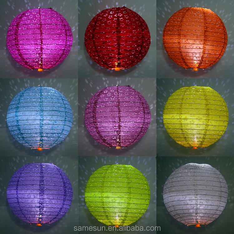Factory Wholesale Chinese Hanging Paper Lanterns