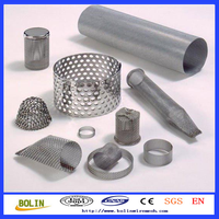 316 Stainless Steel Pipe / Filter Screen Pipe / Knitted Wire Mesh Filter Pipe For Filters (free sample)