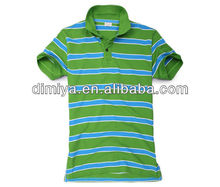 Brand New Factory produce Classic Short Sleeve Polo Shirt/Women's Classic Polo Shirt green