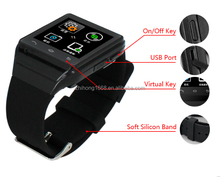 Single sim single card watch gsm cellphone SJ00002 support bluetooth for sport