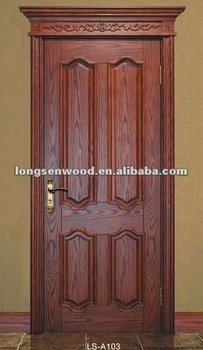 Solid Wood Door European Style