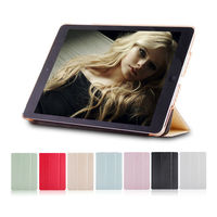 2013 New design leather case for iPad mini with retina display with Sound Enhancer