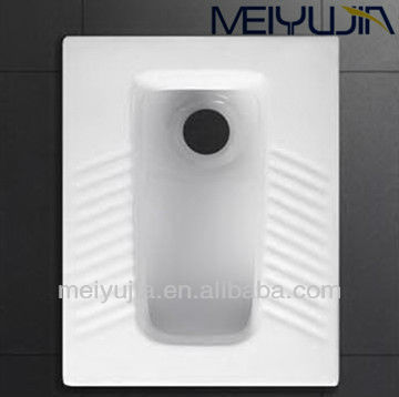 hot sale sanitary ware bathroom squatting water closet for public wc