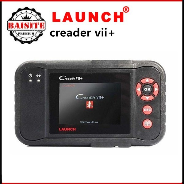 High quality universal auto car diagnostic scanner original Launch Creader 7+ VII+ Crp123 scan tool with best price
