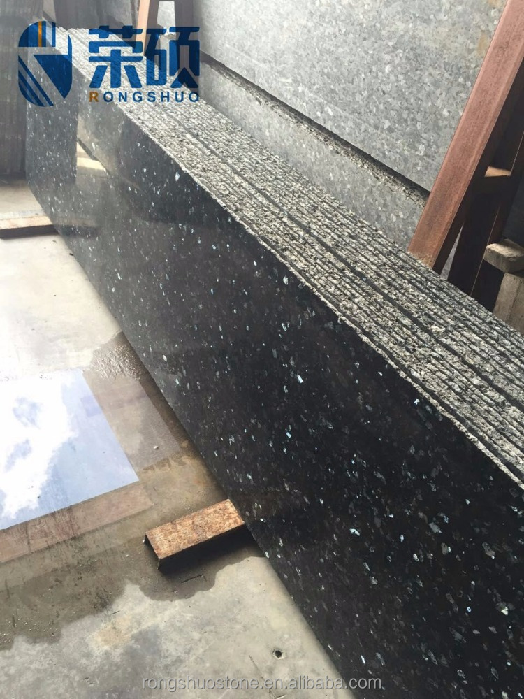 High quality Norway imported green granite old emerald pearl slab