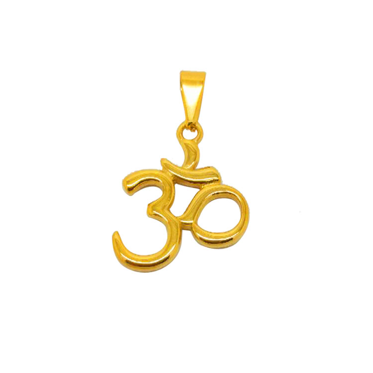 Factory Directly Supplied Steel Religious Unisex Jewelry 18K Gold Muslim Pendant