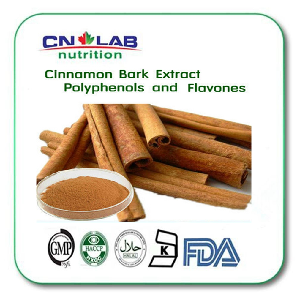 Factory Supply resl cinnamaon, Cinnamon Bark Extract Flavone 5% 10%