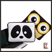 "16"" cute Neoprene Notebook Computer Laptop Sleeve with Zipper"