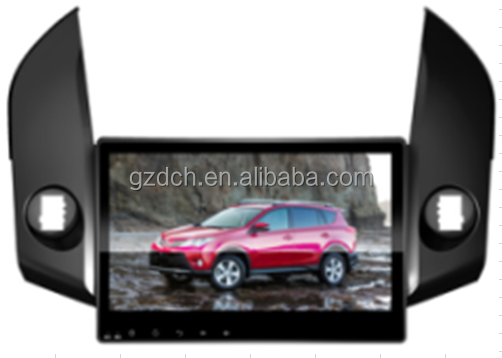 10.1 inch android special car dvd playerfor TOYOTA RAV4 2006-2012 quad core RK3188 1024*600 1G+16G WS-9765