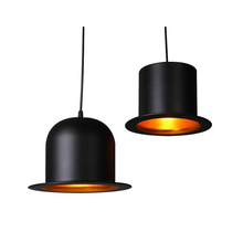 Decorative Hat Droplight Modern Industrial Hanging Pendant Light Fixture LED Aluminum Pendant Lamp