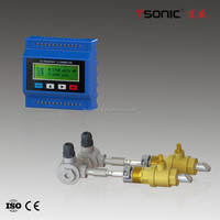 BTU small size insertion sonic flowmeter