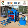 Factory directly hydraulic vibration automatic concrete hollow block maker machine price in Africa QT4-15D