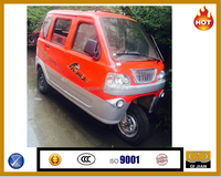 2016 Passenger electric tricycle with 4-6 seats/all closed electric tricycle for passenger/adult electric