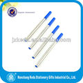 loose packing roller pen metal gel ink refill