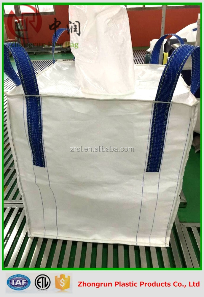 jumbo bag bulk bag for Coal Steel Silica Sand 1500kg 2000kg 3000kg big bag