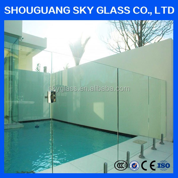 3-19mm China Top Quality Chinese Credible Supplier Tempered Glass for Sunroom