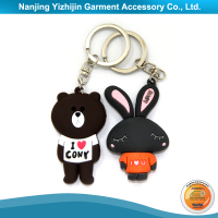 Promotional Silicon Keychain with Cheap Price