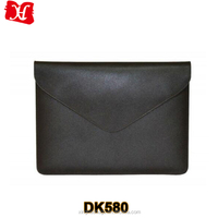 Dark brown leather tablet case tablet sleeve