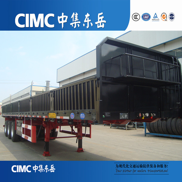 CIMC mobile 40 Ton Side Wall Semi Trailer Wall Side Truck Trailer Made In China