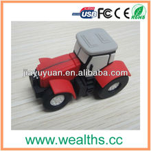 Universal Truck shape PVC USB Flash Drive/Disk/Memory2.0 as Promotional Gift