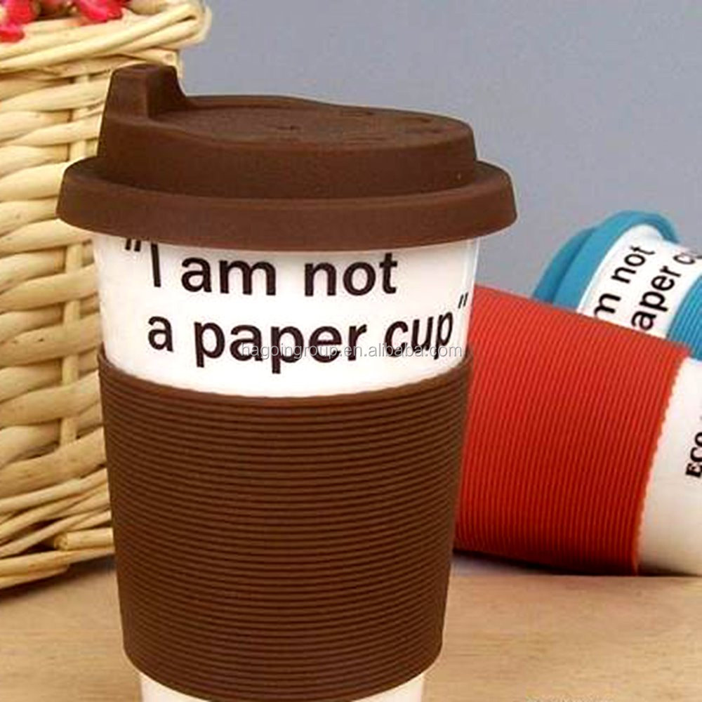Non-Toxic Silicone Rubber Coffee Cup Lid