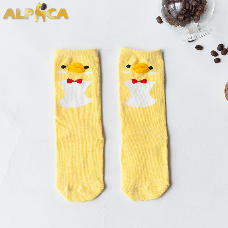 OEM Girls and animals sexy bulk wholesale cozy best children cartoon teen boy girl tube socks