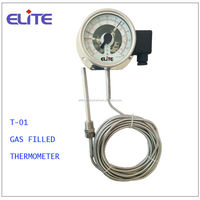 T-01Electric Contact Bimetal Thermometer INDUSTRIAL GAS FILLED THERMOMETER