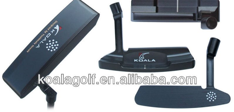 Wholesale Golf Putter,All CNC Milled with PVD Black Plating Putter,OEM Orders are Welcome