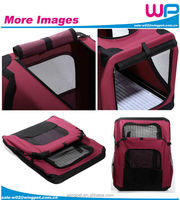 WingPet Cusomized 600D Fabric Waterproof Dog Deluxe Travel Carrier With Mesh Bag