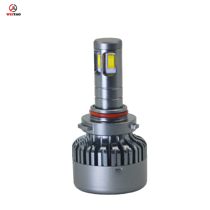 High lumen <strong>auto</strong> 9600LM h1 h4 h7 9006 automatic V10 car led headlight 4 sides csp headlight wholesale